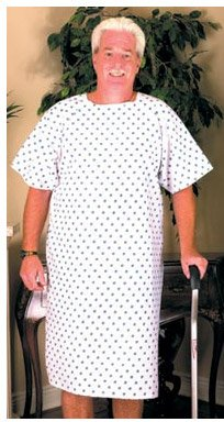 Pack of 4 Hospital Gown - Medical Gown -