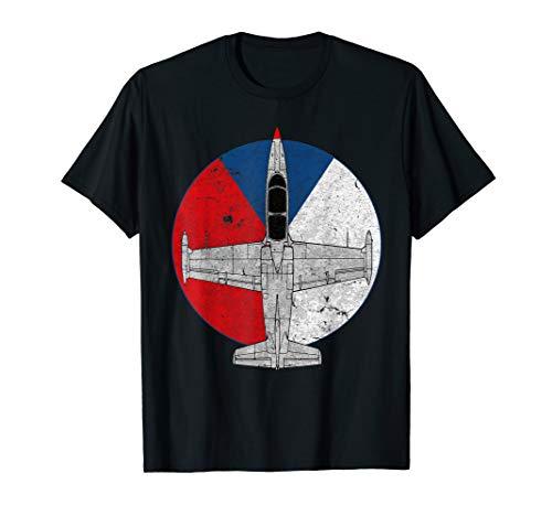 L-39 Albatros Czech Jet Aircraft Vintage Pilot T-Shirt