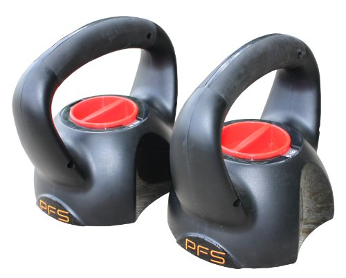 Performance Fitness Systems Adjustable Kettle Bell (5-10-15-20-Pound)