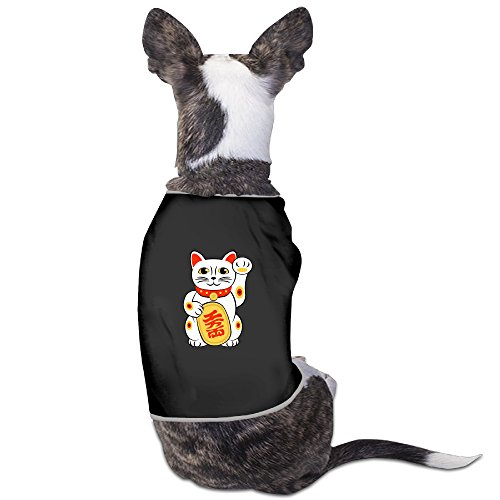 Little Lamb Dog Costume - Lucky Cat Printed Lovely Dog Costumes Dogs T Shirts Suitable For Little Dogs