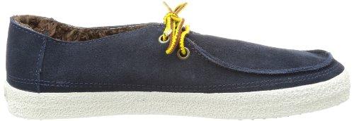 Vans M RATA VULC TREK (SUEDE) NAVY - Zapatillas de cuero hombre azul - Blau ((Suede) navy)