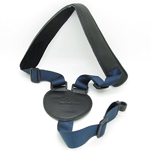 Dark Blue+Black Guitar Mandolin Straps Ukelele Acoustic Guit