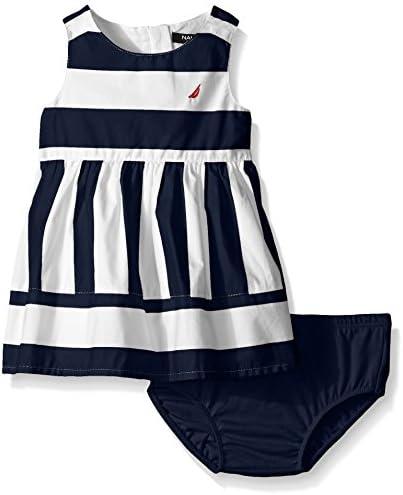 Nautica Girls Multi Directional Stripe Dress product image