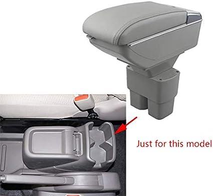 Per 2010-2017 N issan NV200 Lusso Auto Bracciolo Accessori LED Incorporato Il corrimano pu/ò essere sollevato beige