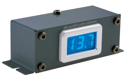 Audiobahn Car - Audiobahn ADM100J Intake Amplifier Remote Mount Digital Volt Meter