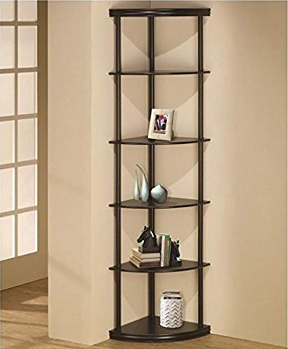Amazon.com: Corner Shelves for Living Room Unit Bookcase 5 Tier ...