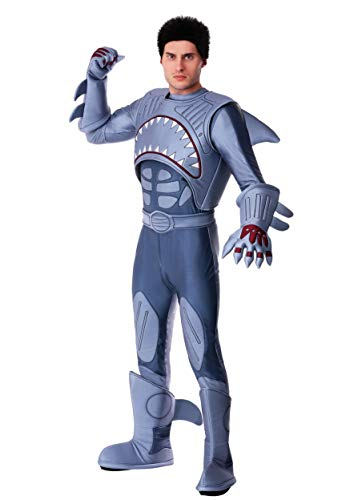 Exclusive Adult Sharkboy Costume Small Gray]()