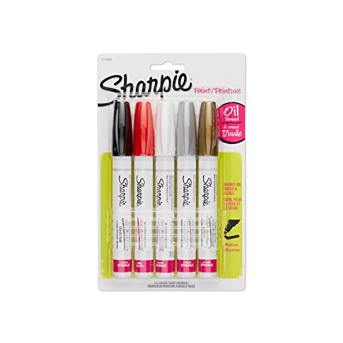 sharpie-oil-based-paint-markers-medium-point-assorted-colors-5-count