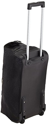 Hauptstadtkoffer® Modell Tiergarten Reisetasche Trolley Lederoptik,Farbe:Schwarz Tasche 56 cm 55 Liter