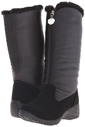 Amber Stiefel Wetter Supple Black Khombu Geschlossener Frauen Zeh Kaltes B5aqAxz
