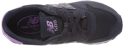 Balance Rnp Bleu navy Gw500br Femme New purple Baskets az8qS
