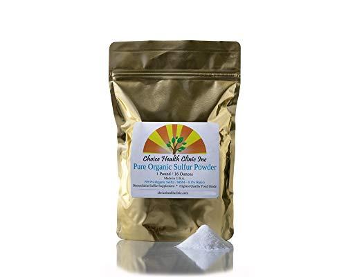 Choice Health - Organic Sulfur Powder -1 lbs MSM