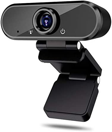 HD WebcamMicrophone1080p Web Camera for Video Calling Conferencing Recording PC Laptop Desktop USB Webcams