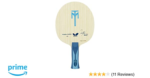 an Professional Table Tennis Blade Butterfly Timo Boll ALC Blade Arylate-Carbon Table Tennis Blade 5 Wood FL or ST Handle 2 Arylate-Carbon Plies Made in Japan
