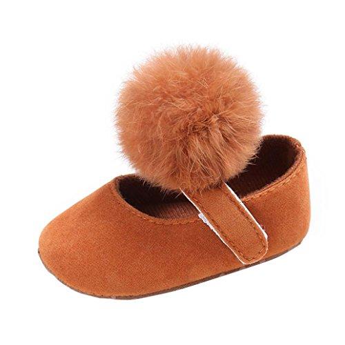 Zapatos de bebé, Switchali zapatos bebe niña primeros pasos verano Recién nacido Niña Cuna Flor Suela blanda Antideslizante Zapatillas Bebé niño vestir casual MarróN