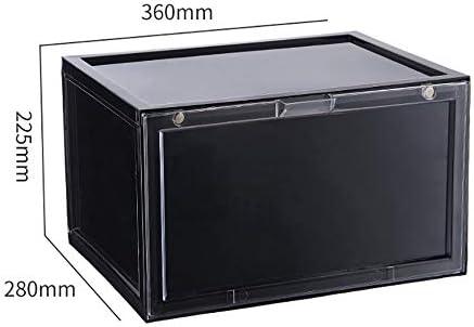 LIHUAN Zapato Caja Transparente Plástico Zapato Caja Diseño ...