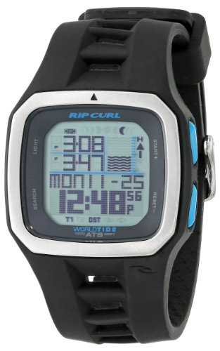 Rip Curl Men's A1092 - BLW Trestles Pro World Tide Black White (Tidemaster Tide Watch)