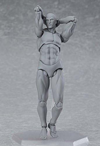 figma archetype next: he - gray color ver. [Figma 03] [import Japon]