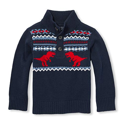 The Children's Place Baby Boys Sweaters, Dress Blues,