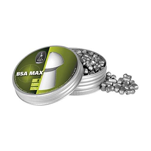 Balines BSA MAX, 1,41 g de Peso, Calibre 5,5 mm, Lata de 200 Unidades, 757 BSA Guns