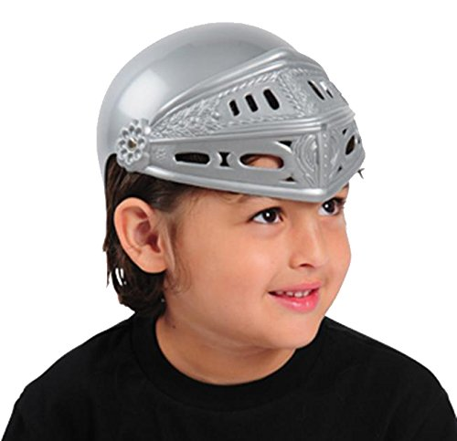 (US Toy One Child Plastic Child Knight Helmet Costume)