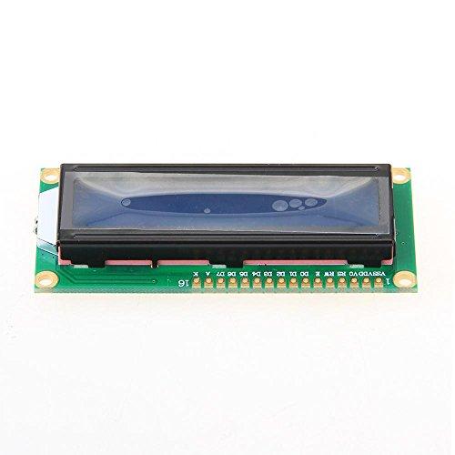 fitTek Módulo Pantalla LCD Azul Display 16×2 Luz de fondo para Arduino