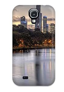 New Premium Flip Case Cover Scenic Skin Case For Galaxy S4