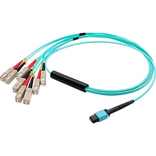 Image of 5M MPO/FEMALE-4SC Male Duplex Fiber Optic Cables