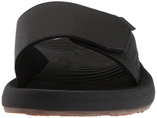 Quiksilver Men's Travel Oasis Slide Sandal, Black/Black/Brown, 8(41) M US by Quiksilver (Image #4)