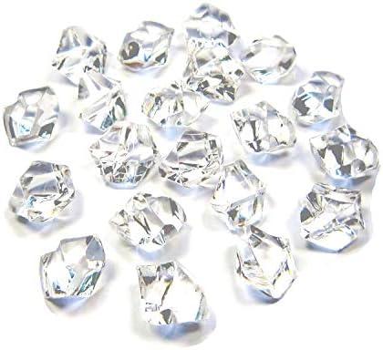 [해외]900 개의 ? スアクリルクリスタルアイスロッククリア 주옥 돌 꽃병 필러 테이블 보급 파티 호의, 결혼식 장식, 아트 공예품 (14 * 11mm) / 900 pcs Acrylic Crystal Ice Lock Clear Gemstone Vase Filler, Table Scatter, Party Favors, Wedding Dec...