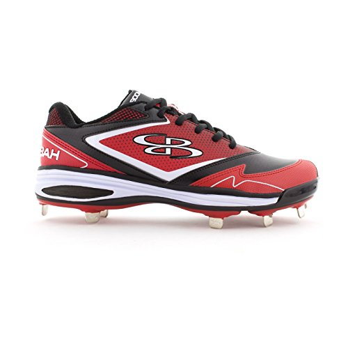 A 6 Women's Multiple Red Options Black Color Metal Game Sizes Cleats Boombah HnB5OFOx