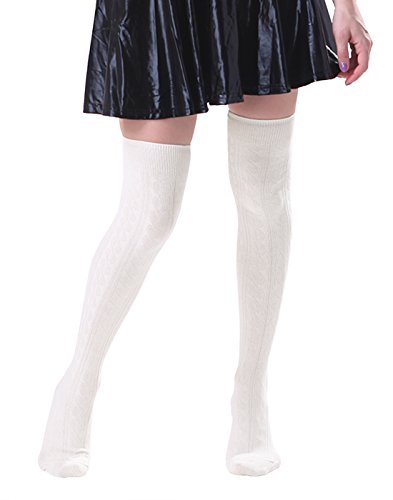 HDE Womens Stockings Solid Opaque