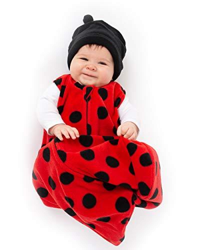 Cuddle Club Lady Bug Wearable Blanket S