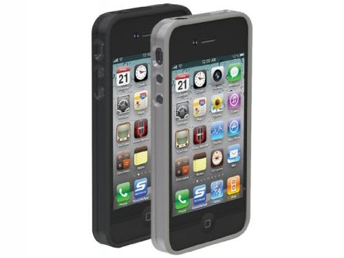 Scosche glosSEE Case for iPhone 4 - Smoke/Clear - Fits AT&T iPhone