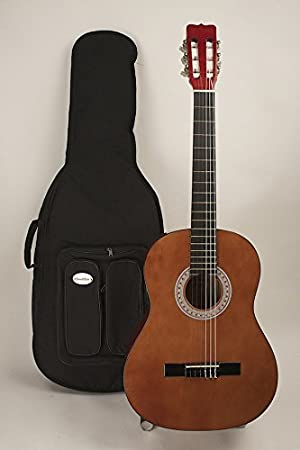 Amazon Left Handed Full Size Nylon String Classic Guitar Completely Set Up In My Shop For Perfect Play Strap Case Included Musical Instruments