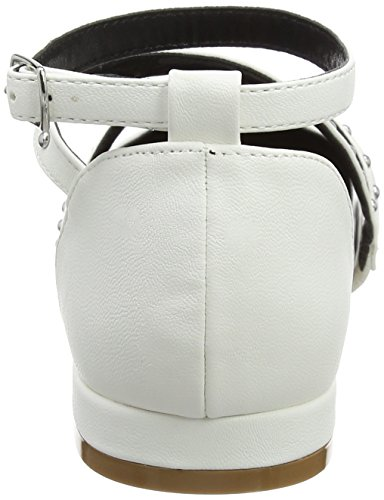MISS SELFRIDGE Point Ballerina - Mules Mujer White (White)