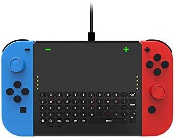 ILS TNS-1702 2.4G - Teclado inalámbrico con Joy-con Soporte para Nintendo Switch, Consola de Juegos: Amazon.es: Electrónica