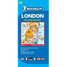 Michelin London Map 34