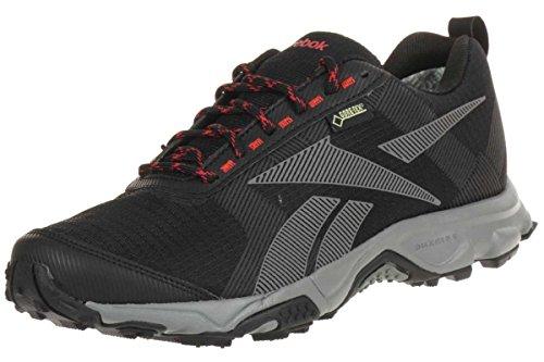 Reebok Premier FLX GTX Gore-Tex VI Walkingschuhe Laufschuhe schwarz/grau/rot, Schuhgröße:EUR 42