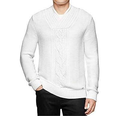 Calvin Klein Snowfall Mens V-Neck Pullover Sweater