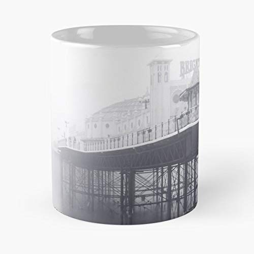 (Mist Fog Dawn - Coffee Mugs Unique Ceramic Novelty Cup)
