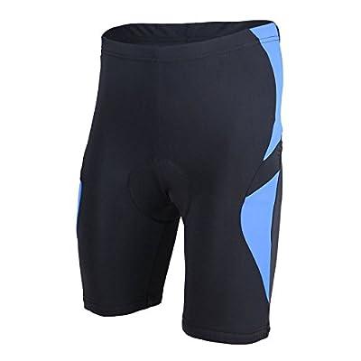 Spoz Men Cycling MTB Gel Padded Tight Short Pants L-X-069