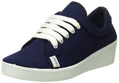 BEPPI Canvas 2135180, Zapatillas de Deporte para Mujer Azul (Navy Blue)