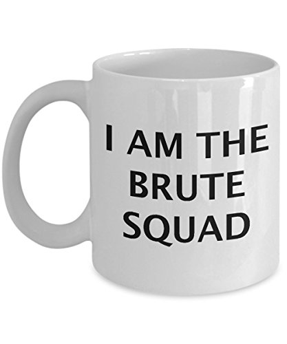 [Funny Princess Bride Quote Mug - Quality Coffee Cup with Sayings from Movie - Gift or Present for 80s Movies Fans - Brute] (80s Movies Costumes)