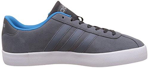 adidas Vlcourt Vulc, Chaussures de Tennis Homme, Gris (Onix/Onix/Azusol), 40 EU