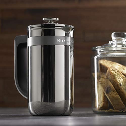 Kitchenaid Automatic Coffee Maker - KitchenAid KCM0512SS Precision Press Coffee Maker, Stainless Steel