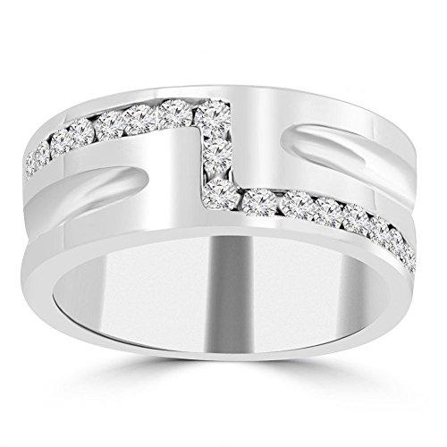0.65 Ct Diamond Band - 3