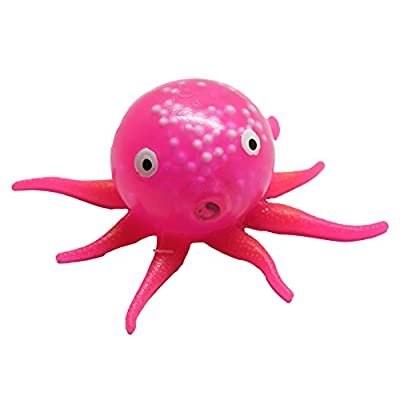 Curious Minds Busy Bags Gel Octopus Stress Ball - Squishy Toy - Sensory Fidget (Green): Toys & Games