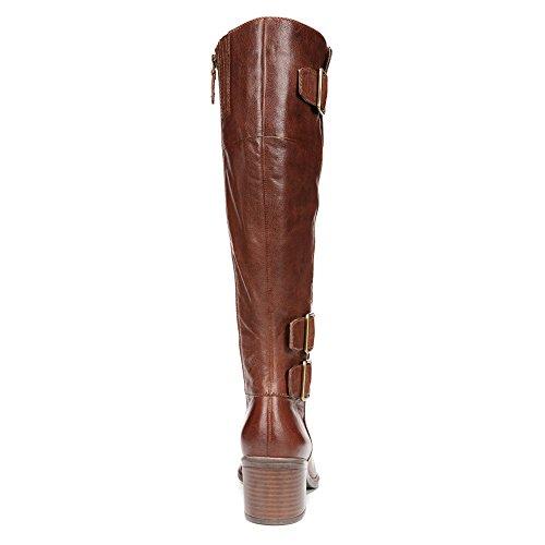 Franco Sarto Womens Elate Boot Whisky Brunt Vax Getskinn