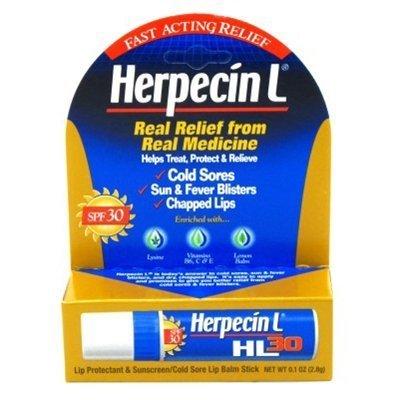 Herpecin L Lip Protectant SPF 30 0.10 oz ( Pack of 3) by Herpecin-L